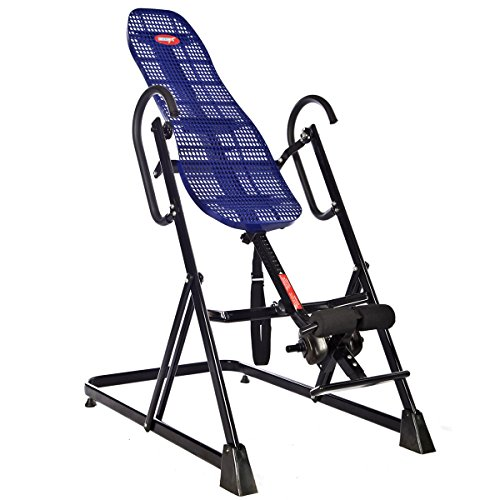 EMER 330 LBS, Lumbar Support,Pro Deluxe Inversion Therapy Table for Fitness and Exercise - 400 Inversion Tables