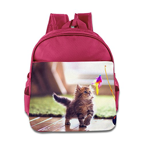 [TXHLEL Little Cat Boys Girls Backpack] (Pinky Brain Costume)