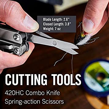 LEATHERMAN – Wingman Multitool with Spring-Action Pliers and Scissors, Stainless Steel