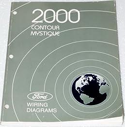 2000 ford contour, mercury mystique wiring diagrams ford motor  mercury mystique wiring diagram #10