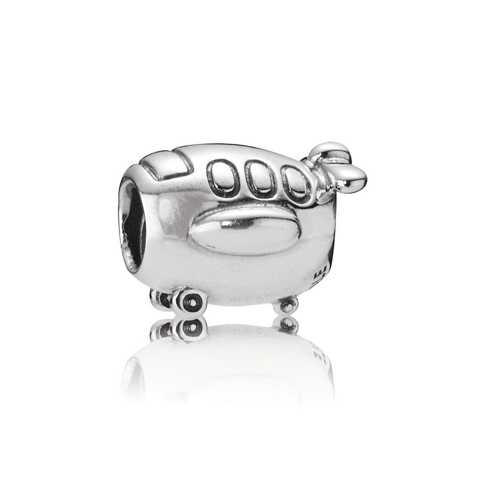 Pandora Airplane Charm in 925 Sterling Silver, 790561
