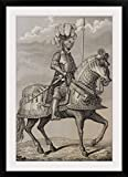 GreatBIGCanvas ''Charles V's armour preserved in the Royal Armoury, Madrid, Spain'' by Spanish School Photographic Print with Black Frame, 24'' x 36''