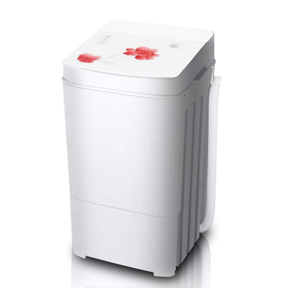 IIWOJ Mini Lavatrice Monocilindrica Semi-Automatica (Lavaggio + Disidratazione), Blue [Classe di efficienza energetica A]