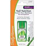 Sally Hansen Nail Nutrition Green Tea plus Bamboo Nail Strengthener, 0.45 Fluid Ounce