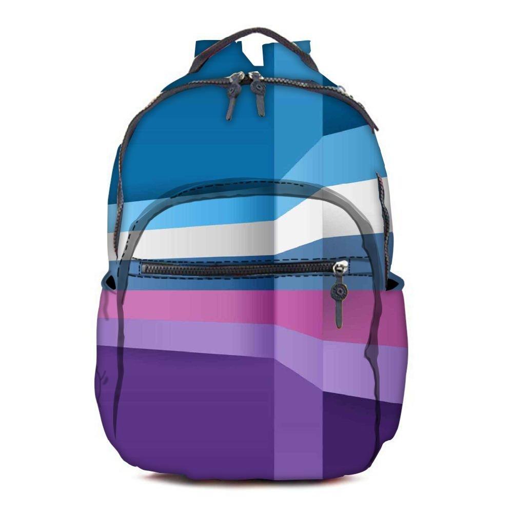 Snoogg RPC-2393-AOPBKPAK Bolso escolar, multicolor (multicolor) - RPC-2393-AOPBKPAK Snoogg c1b839