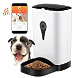 Philojoy Pet Self Feeder, Automatic Smart Feeder for Dogs & Cats, Remote Controlled Food Dispenser,Build in HD Camera and Audio Communication
