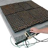 Ken-Bar Agritape Seed Starting 44'' x 10' Heat Mat with Grounding Screen