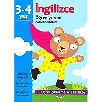 İngilizce Öğreniyorum 3-4 Yaş Aktivite Kitabım