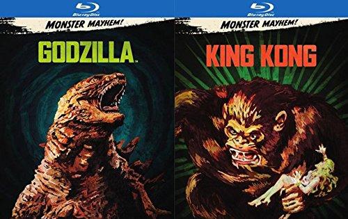 The Titans Fight! Godzilla (2014) & King Kong (1933) 2-Blu-ray Bundle