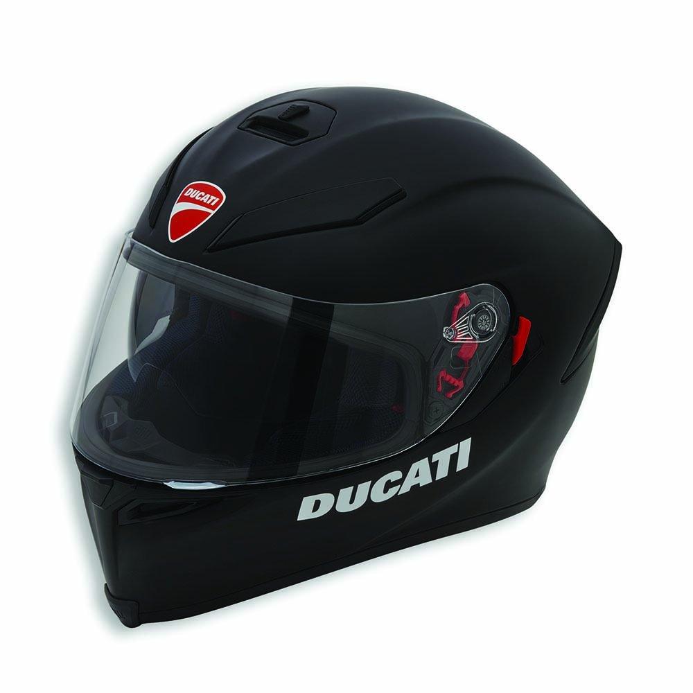 Amazon.com: Ducati Dark Rider V2 Motorcycle Helmet by AGV ...