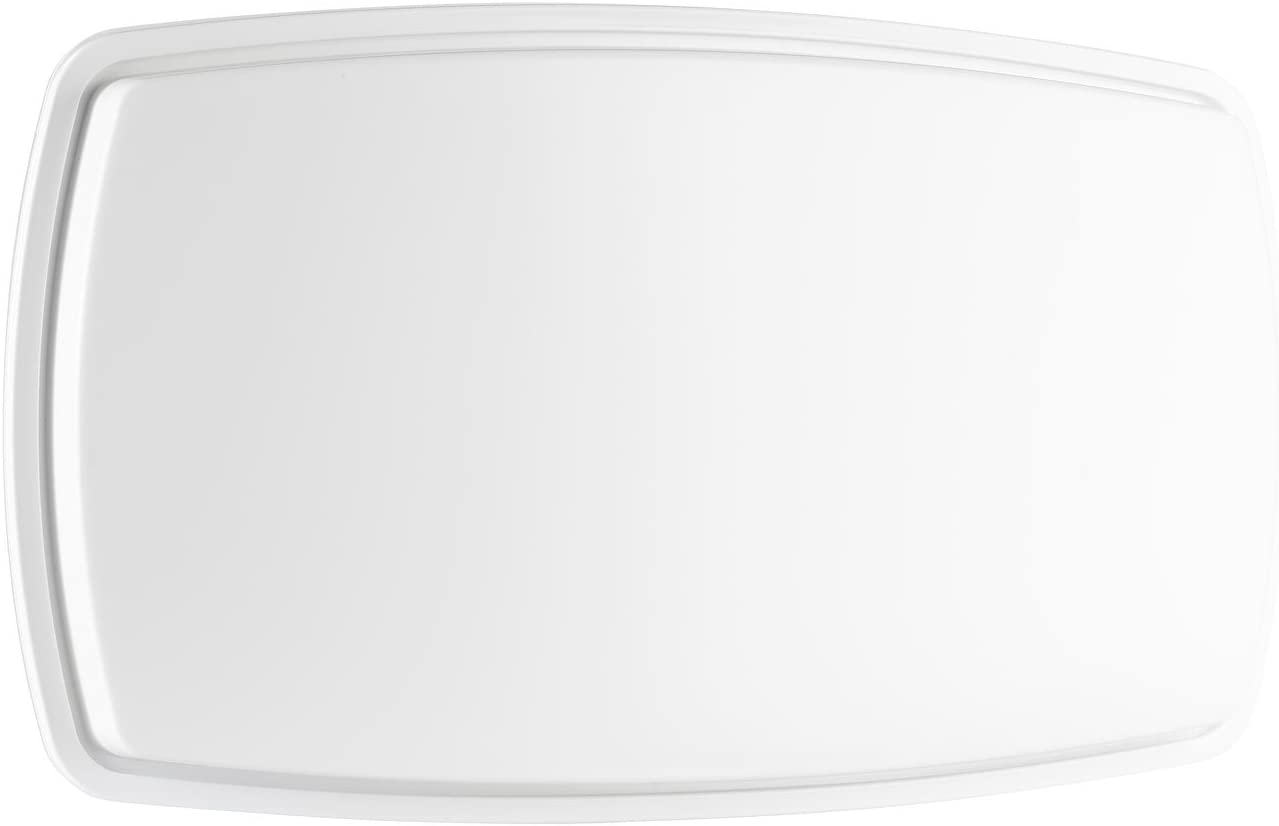 esoSAT Se sentó Cuenco: Antena satelital Plana FA-310.HD con LNB único Digital (Mini Se sentó Cuenco)