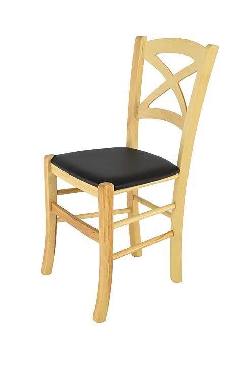 Tommychairs sedie di design - Sedia modello CROSS per cucina e sala ...