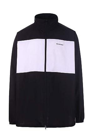 super service usa pas cher vente profitez de la livraison gratuite Balenciaga Homme 571434Tem211000 Noir Coton Veste: Amazon.fr ...