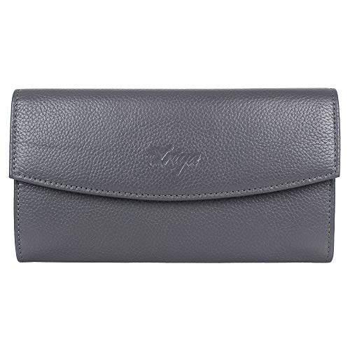 Women's Clutch Handbag Genuine Leather Envelope Evening ()