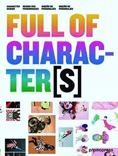 Descargar Libro Full Of Characters. Diseño De Personajes Vv.aa.