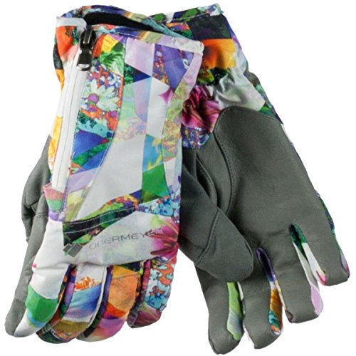 Obermeyer Womens Alpine Glove (Chevron Floral / X-Small)