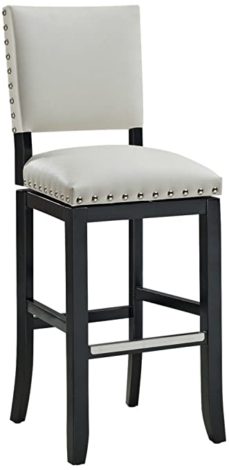 Amazon.com: American Heritage Billiards 130181 Jaxon Bar Height Stool,  Black: Kitchen U0026 Dining