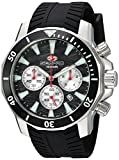 SEAPRO Men's Casual Scuba Dragon Diver Limited Edition 1000 Meters Black Dial Quartz Watch (Model: SP8341S)