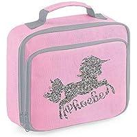 Personalised Name Unicorn Lunch Bag School Bags Boys Personalised Girls Back to School Lunch Box