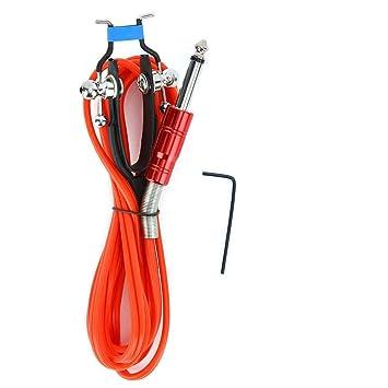 4 cables de clip de tatuaje de 1,8 m colores, cable de silicona ...
