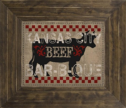 10x8 Kansas City BBQ by Hogan, Melody: Ponderosa Saddle MH-RC-199A