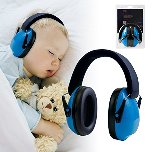Price comparison product image Baby Ear Protection, Bagvhandbagro Child Noise Cancelling Headphones for Outdoor Safety and Hearing Protection, for Babies and Children
