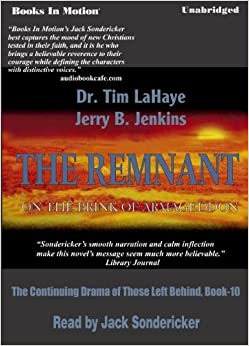 :NEW: The Remnant, By Tim LaHaye And Jerry B. Jenkins, (Left Behind Series, Book 10) From Books In Motion.com. Epsilon Bombas PMCBSW datos iconica Ground