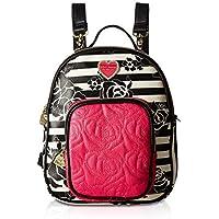 Betsey Johnson Womens Mini Convertible Backpack