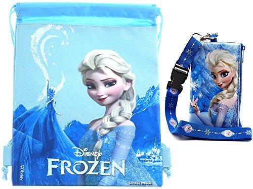 Disney Frozen Queen Drawstring Lanyard