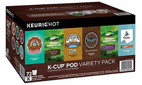 Green Mountain Variety Pack, 72 Count