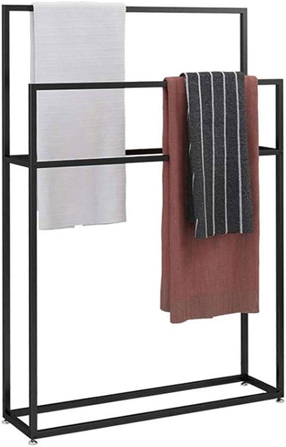 avec Colle 3M YOTINO Porte-serviettes Auto-adh/ésif en Acier inoxydable pour Salle de Bain Sans Per/çage
