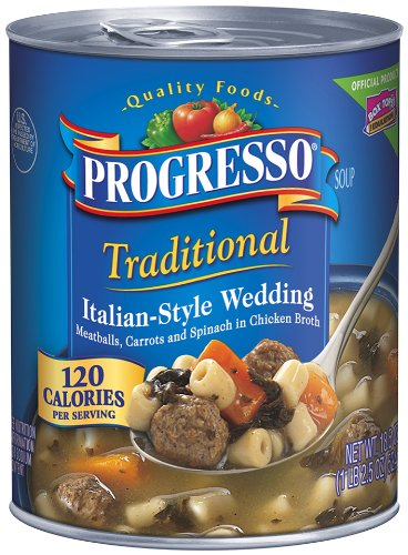 Progresso Traditional Soup, Italian-Style Wedding, 18.5-Ounce Cans (Pack of 12) ()