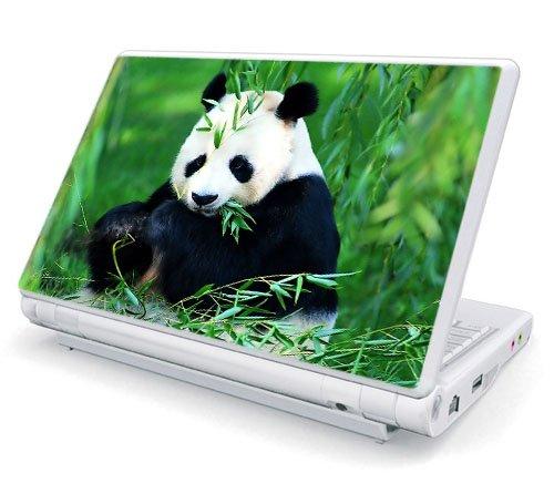 """15.6"""" & 17"""" Laptop Universal Size Decal Skin - Panda Bear"""