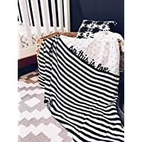 So This is Love Swaddle Blanket Organic Cotton Muslin