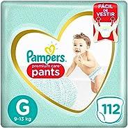Fralda Pampers Pants Premium Care G - 112 fraldas