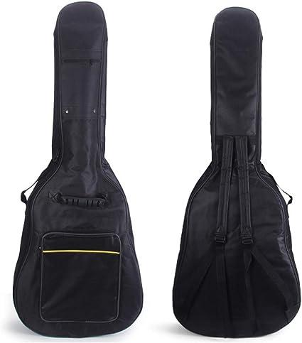 Higger - Funda para guitarra de 41 pulgadas (acolchada, doble ...