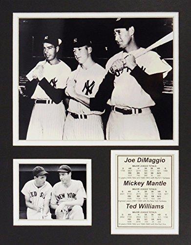 Joe DiMaggio, Mickey Mantle & Ted Williams 11
