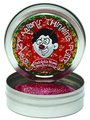 Crazy Aaron S Thinking Putty Rudolph Nose Holiday Special Edition Mini