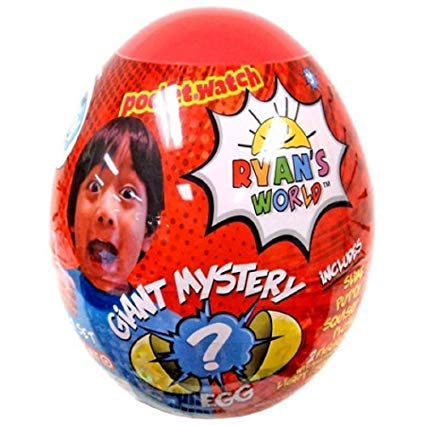Ryan's World Giant Gold and Yellow Mystery Egg Bundle by Ryan's World (Image #2)