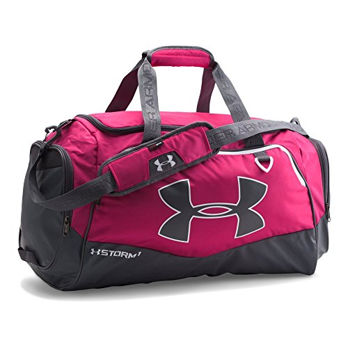 (Under Armour Undeniable Duffle 2.0 Gym Bag, Tropic Pink /White, Medium)