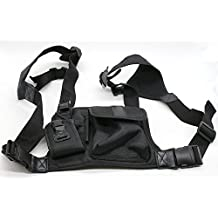 Universal Hands Free Chest Pack Bag Harness for Motorola KENWOOD Midland Radio