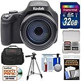 Kodak PIXPRO AZ901 90x Astro Zoom Digital Camera (Black) 32GB Card + Case + Tripod + Kit