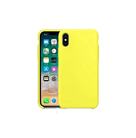 Vanqiang Para Apple iPhone Original Silicone Official Cover ...