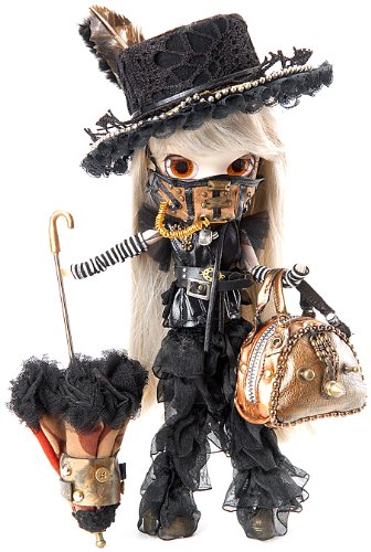 "Pullip Dolls Byul Steampunk Rhiannon 10"" Fashion Doll Accessory 3"