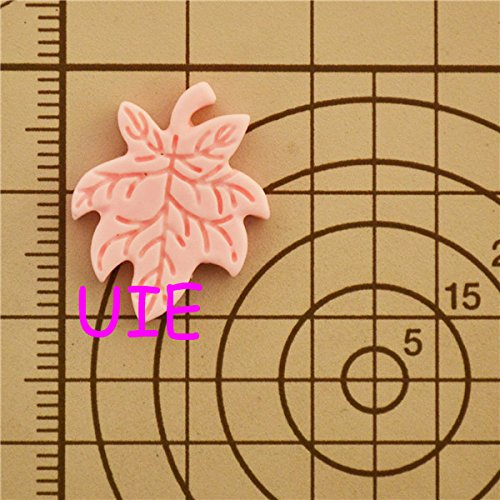 103LBH Leaf Silicone Flexible Push Mold Clay Push Mold Jewelry Cabochon Charms Mini Resin Mold (Clay Fimo Resin Wax Paste)