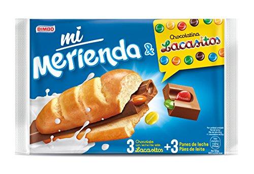 Mi Merienda & Lacasitos Chocolate con leche - 186 gr