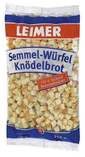 Leimer Knödelbrot-Semmelwürfel,15er Pack (15x 250 g)