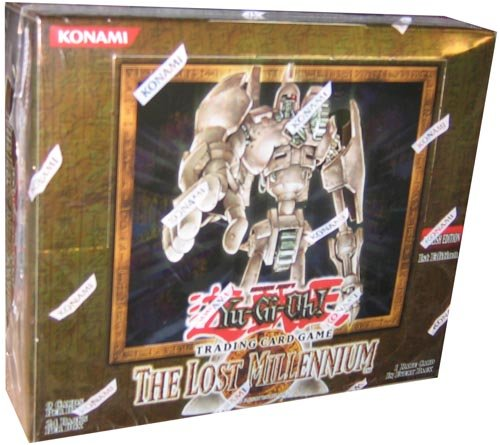 YuGiOh The Lost Millennium Booster Box 24 Packs by Upper Deck