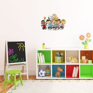 Amazon.com: Peanuts Gang snoopy Wall Graphic Decal Sticker 25\