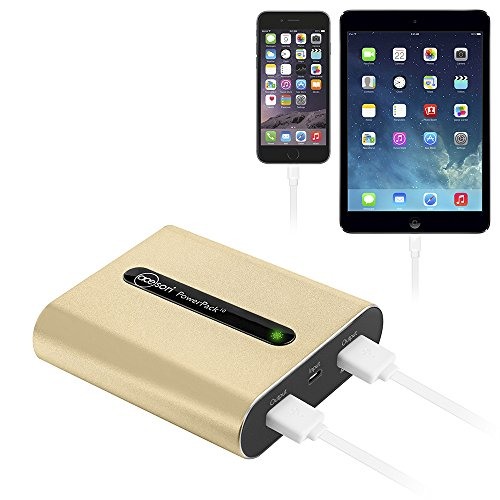 Acesori PowerPack 10 10400mAh Alum Battery Charger, Luxe Gold